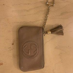 Gucci key chain wallet